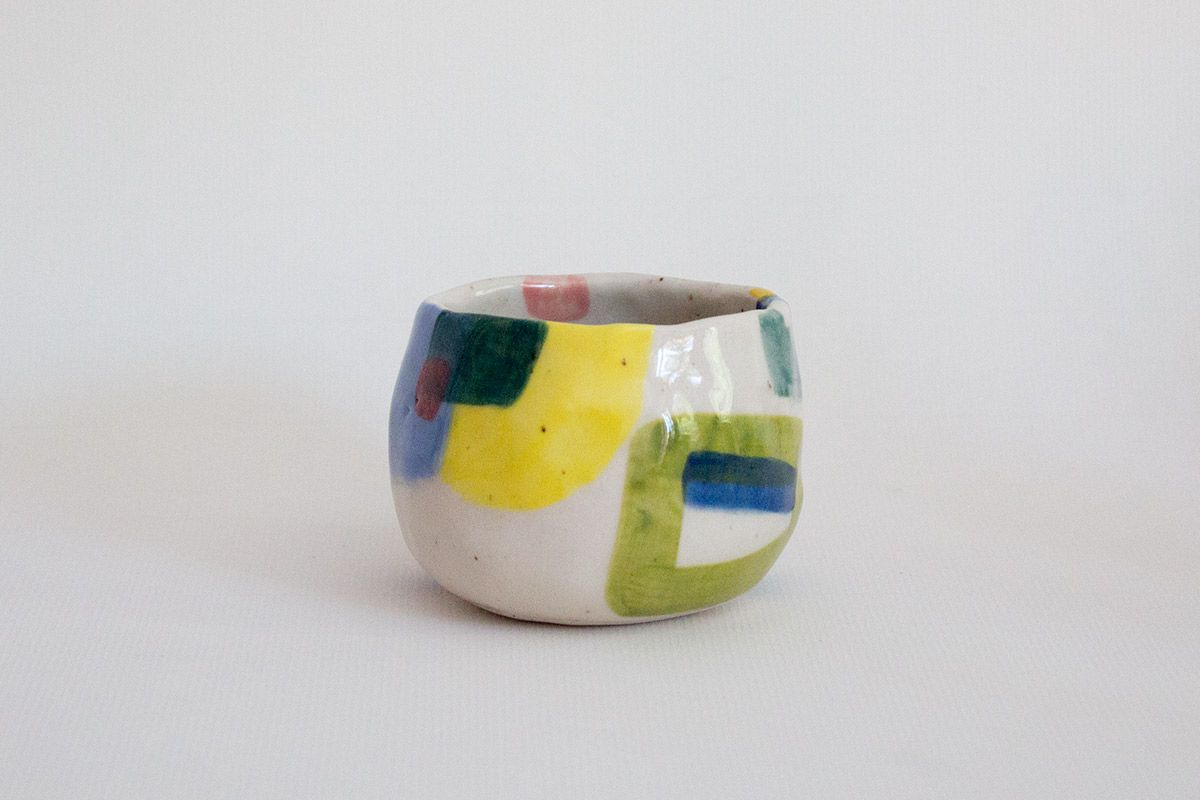 Colorful cup by Cobalto Shop