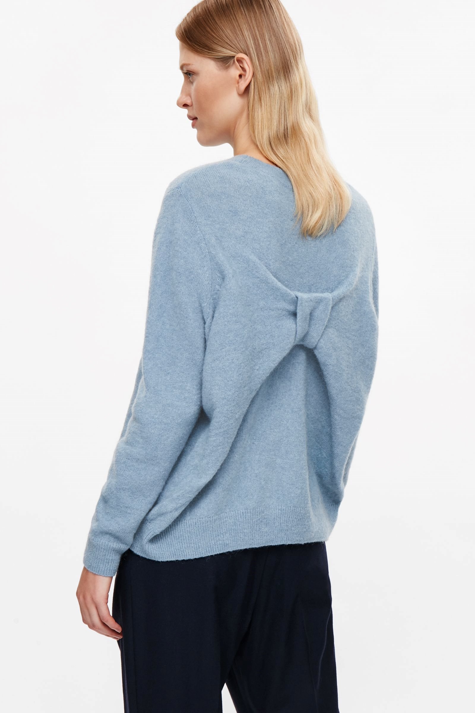 Bow back jumper, COS