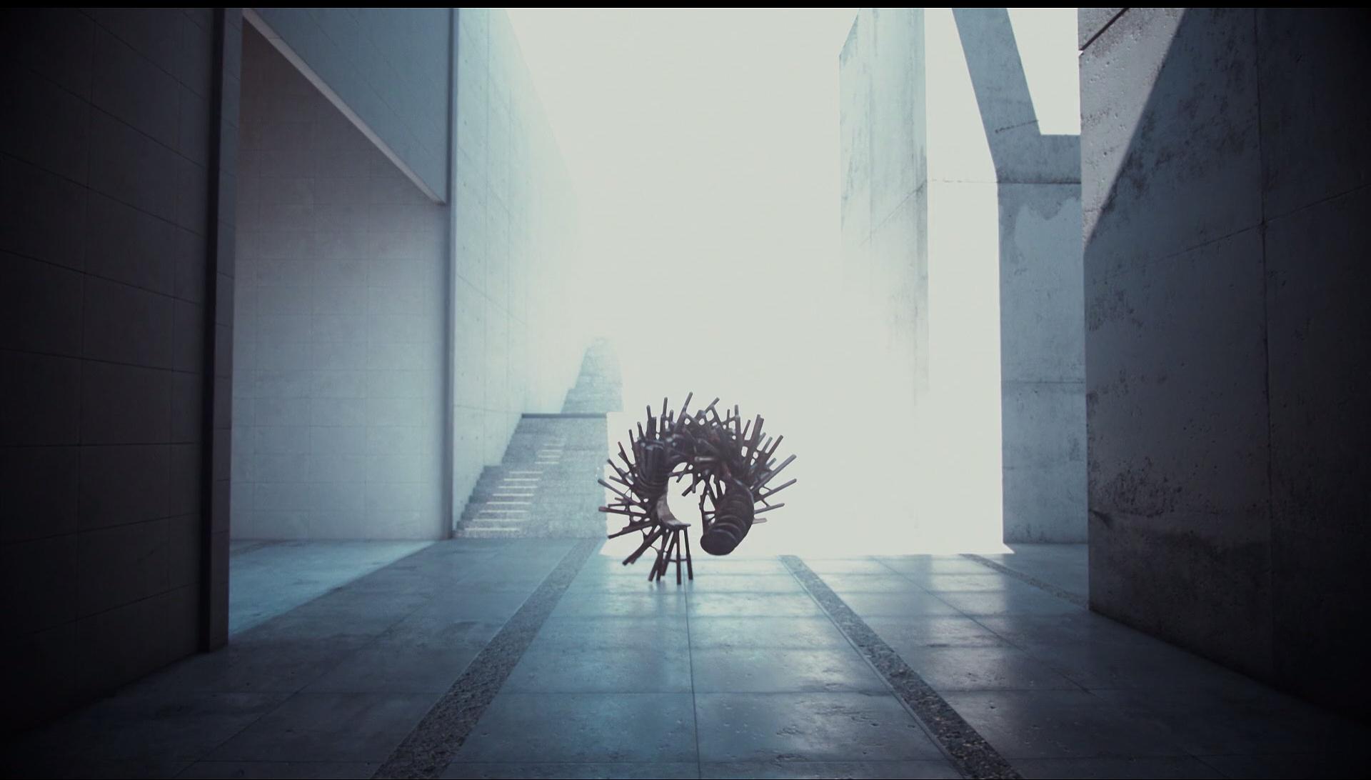 Foto interior - Imagen quemada del exterior si enfocamos adentro.