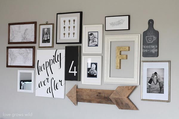 Growable Gallery Wall by Love Grows Wild