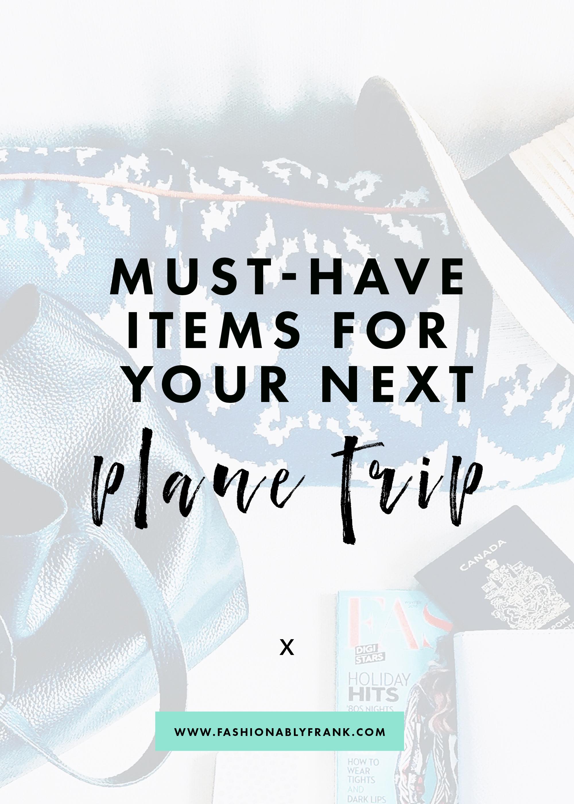 Flight Must Have Items
