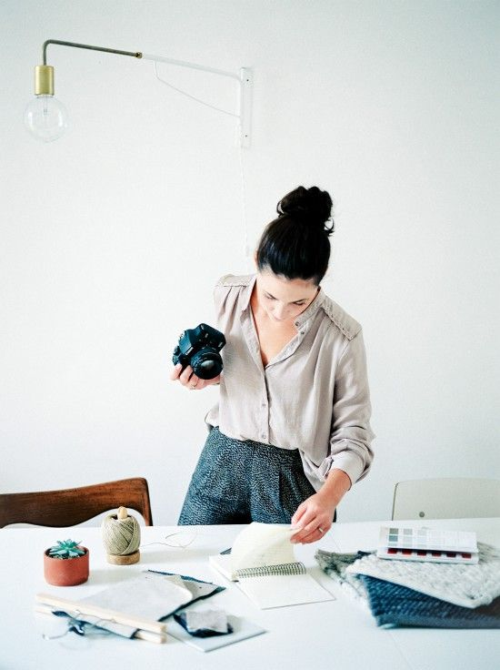 8. YOU IN ACTION! - photo cred: Avenue LifestyleWhether this means you are editing images, creating brand boards, taking photos, designing a client's website or Instagramming your fave client's images: you need a shot of you doing the actions that you would do on a regular basis in your business.