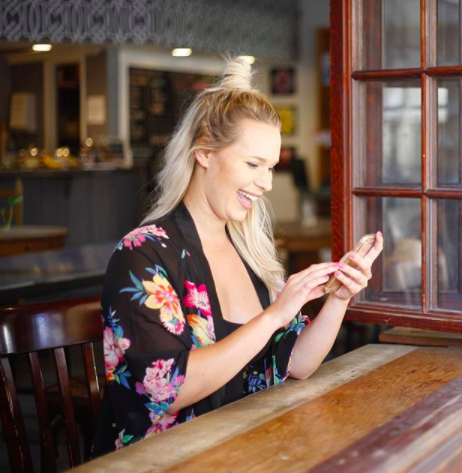 2. The TOP KNOT &Cell PhonE. - photo cred: Social Studio ShopTop knots are ALL THE RAGE lately (and I can't blame you girls - they're SO cute!). If you are a young, millennial business owner, you can tap into the latest fashion trends and hair styles/makeup looks that are subtle enough for business, but beautiful enough to help you stand out from the masses. While no, I am not a fashion designer, my business,