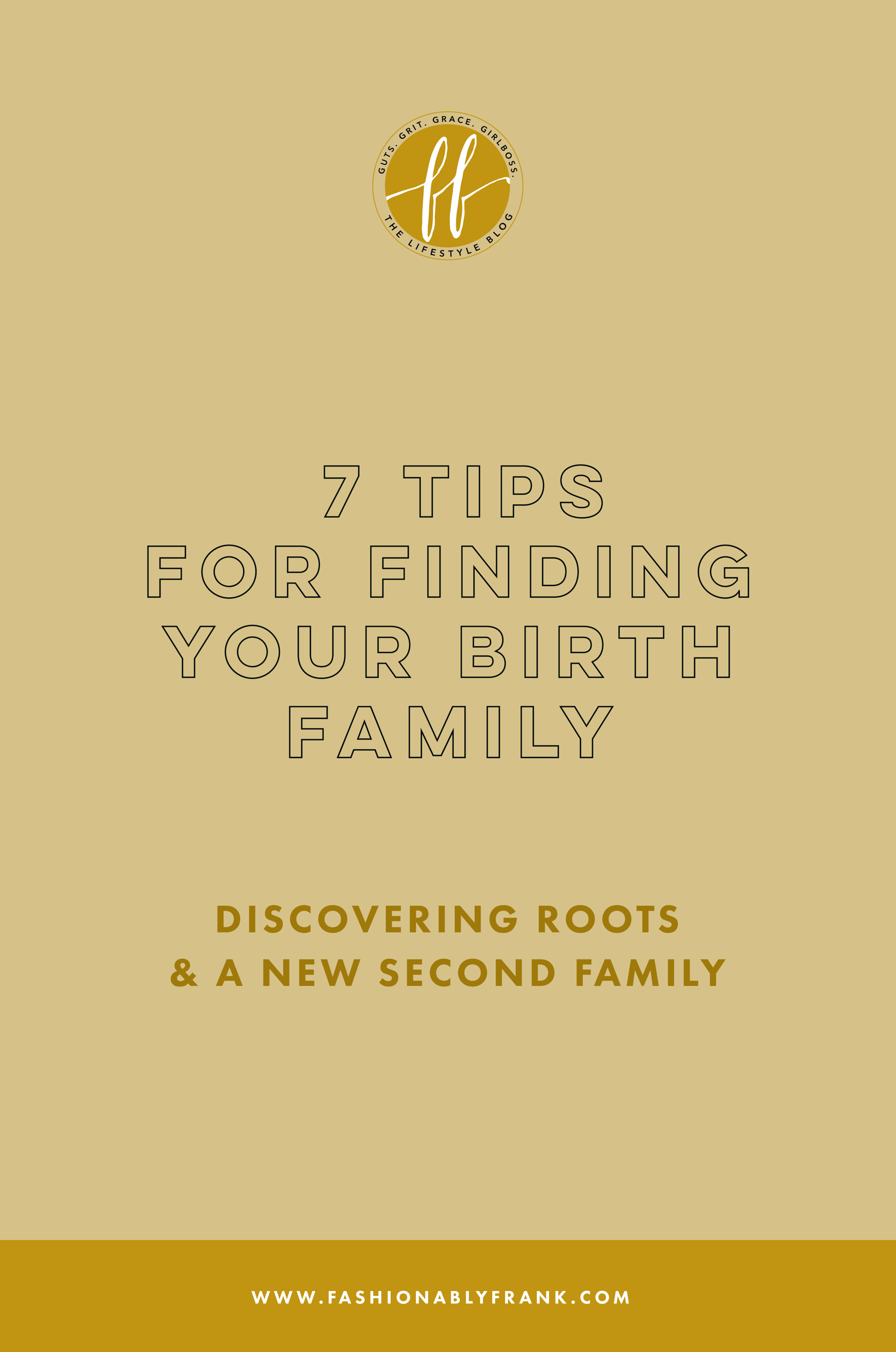 Finding Birth Family