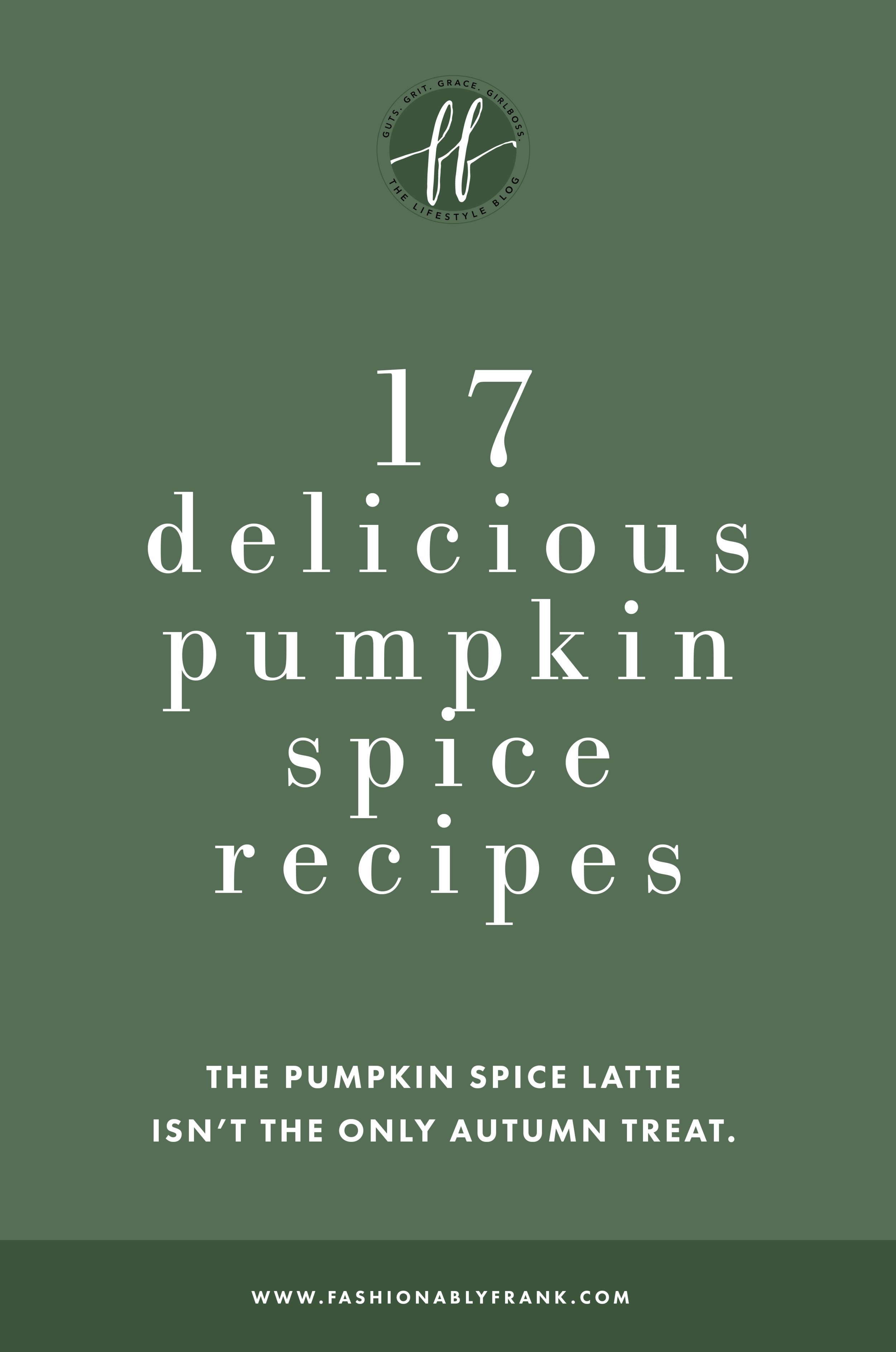 Delicious Pumpkin Spice Recipes
