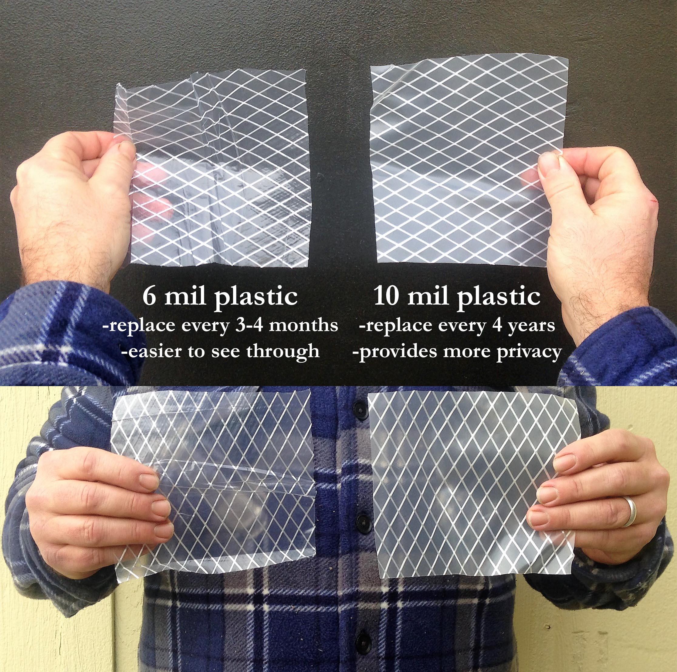 10 mil greenhouse plastic