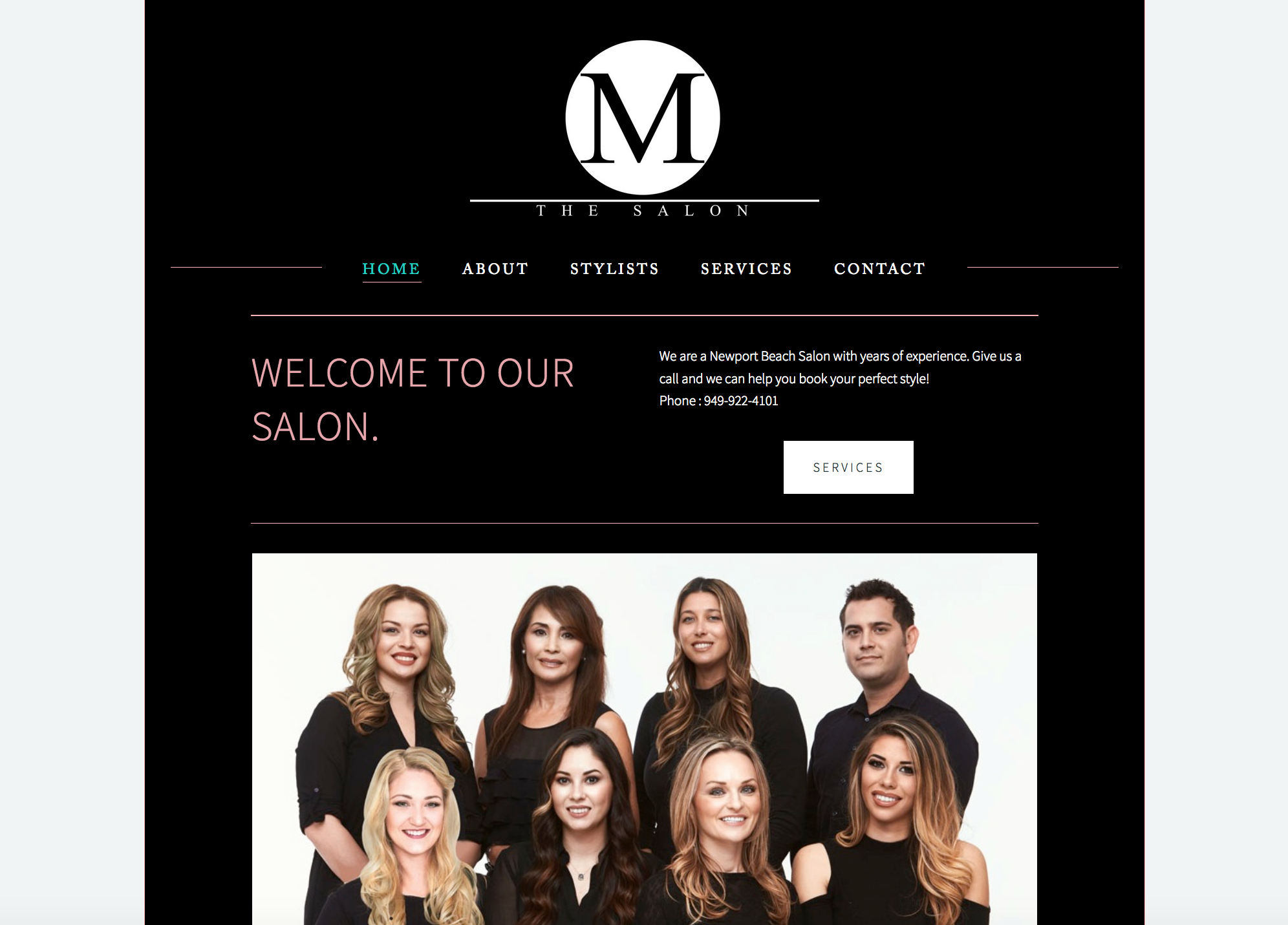 M the Salon, Newport Beach