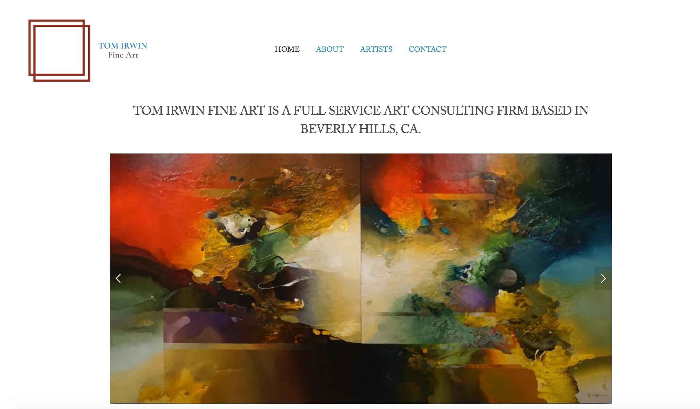 Tom Irwin Fine Art, Beverly Hills, CA