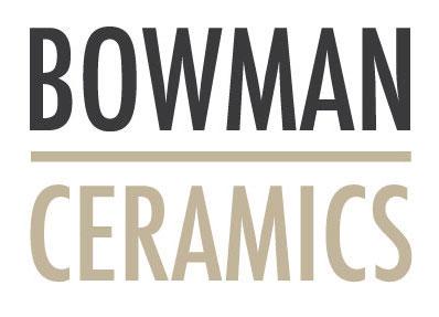 Logo for simple + modern Ceramicist  Bowman Ceramics . Organic, modern, clean just like her signature designs. Graphic Design:  Clarissa Butler