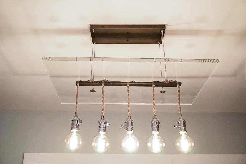 SJP Lighting: Custom Modern Chandelier  - Bulbs by Indie Republic Design