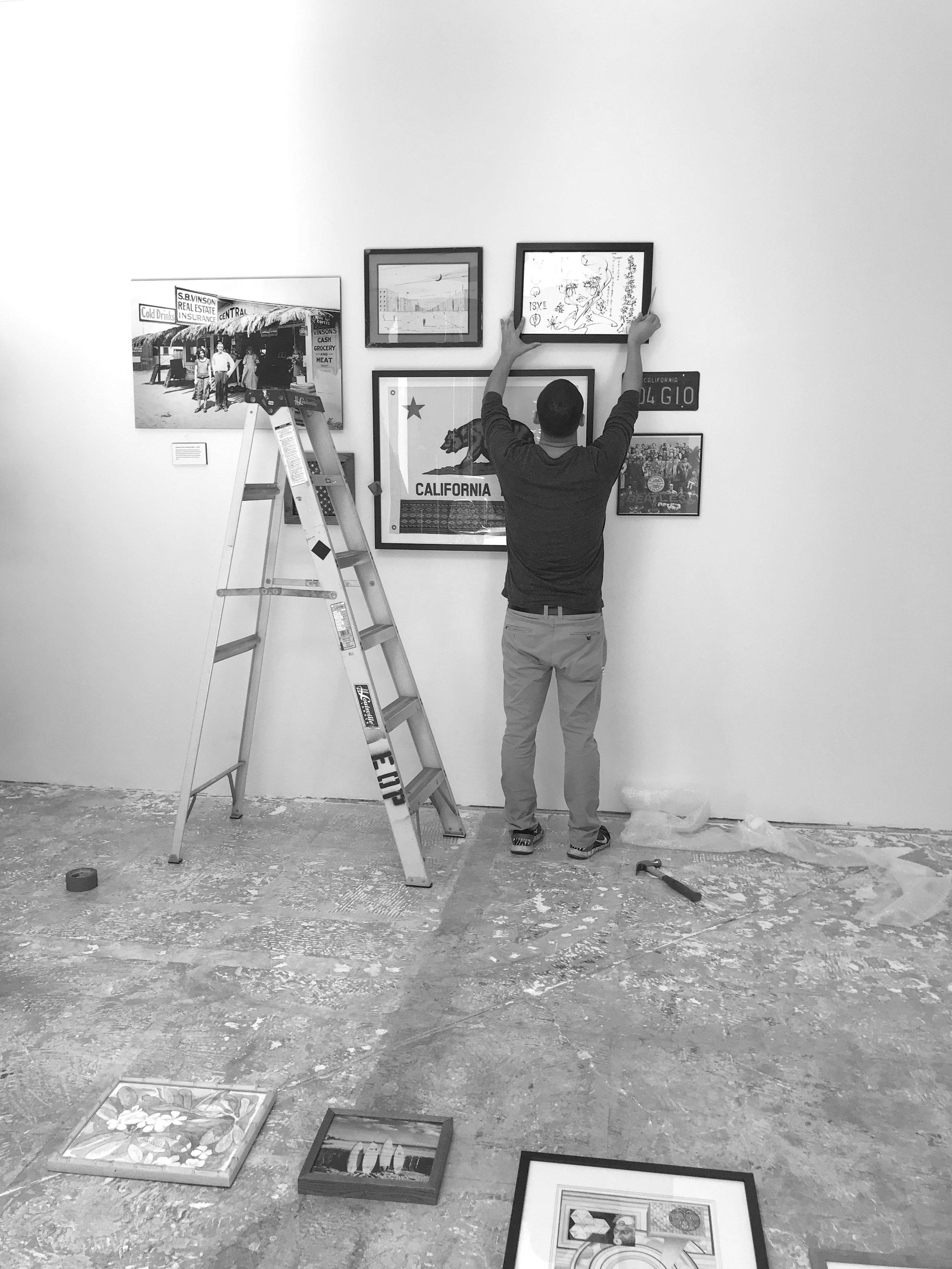 JR. MONROY INK - Art Installation