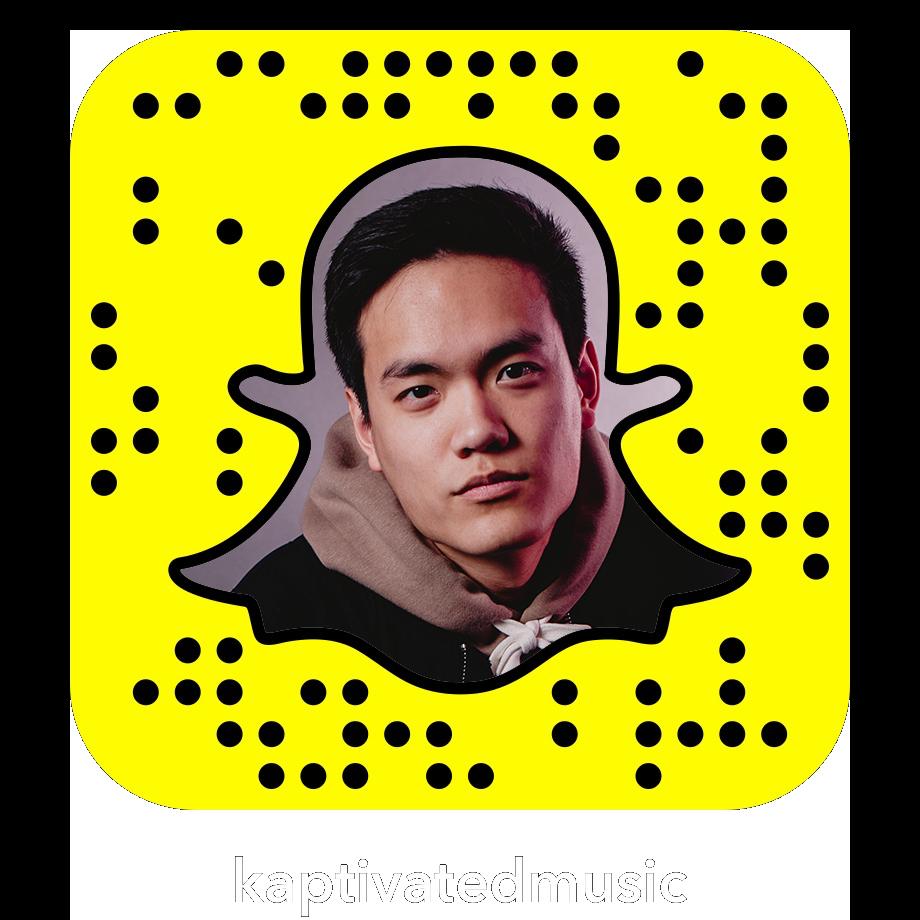 Kaptivated kaptivatedmusic Snapchat Snapcode