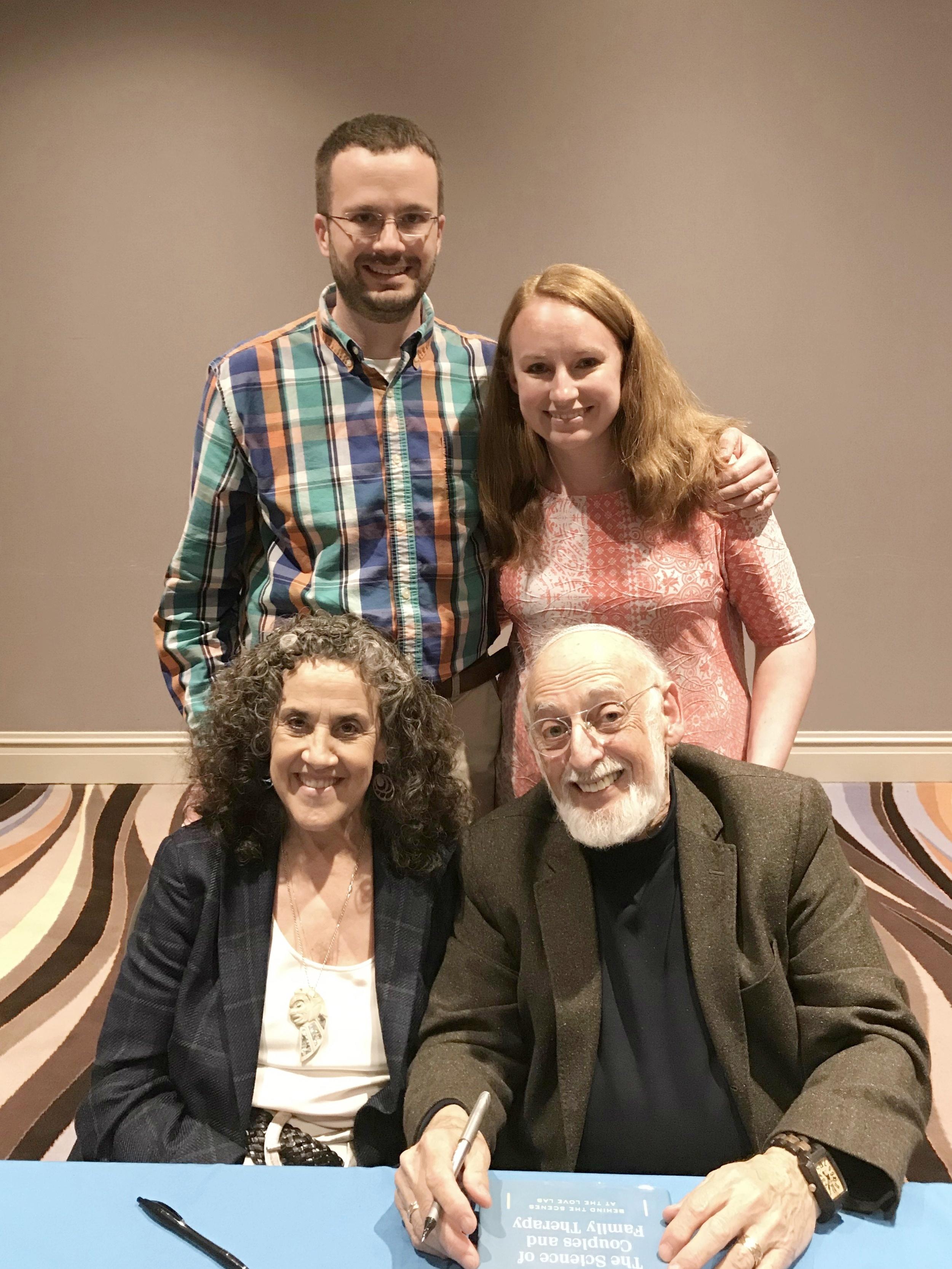 Meeting Drs. John Gottman & Julie Schwartz Gottman