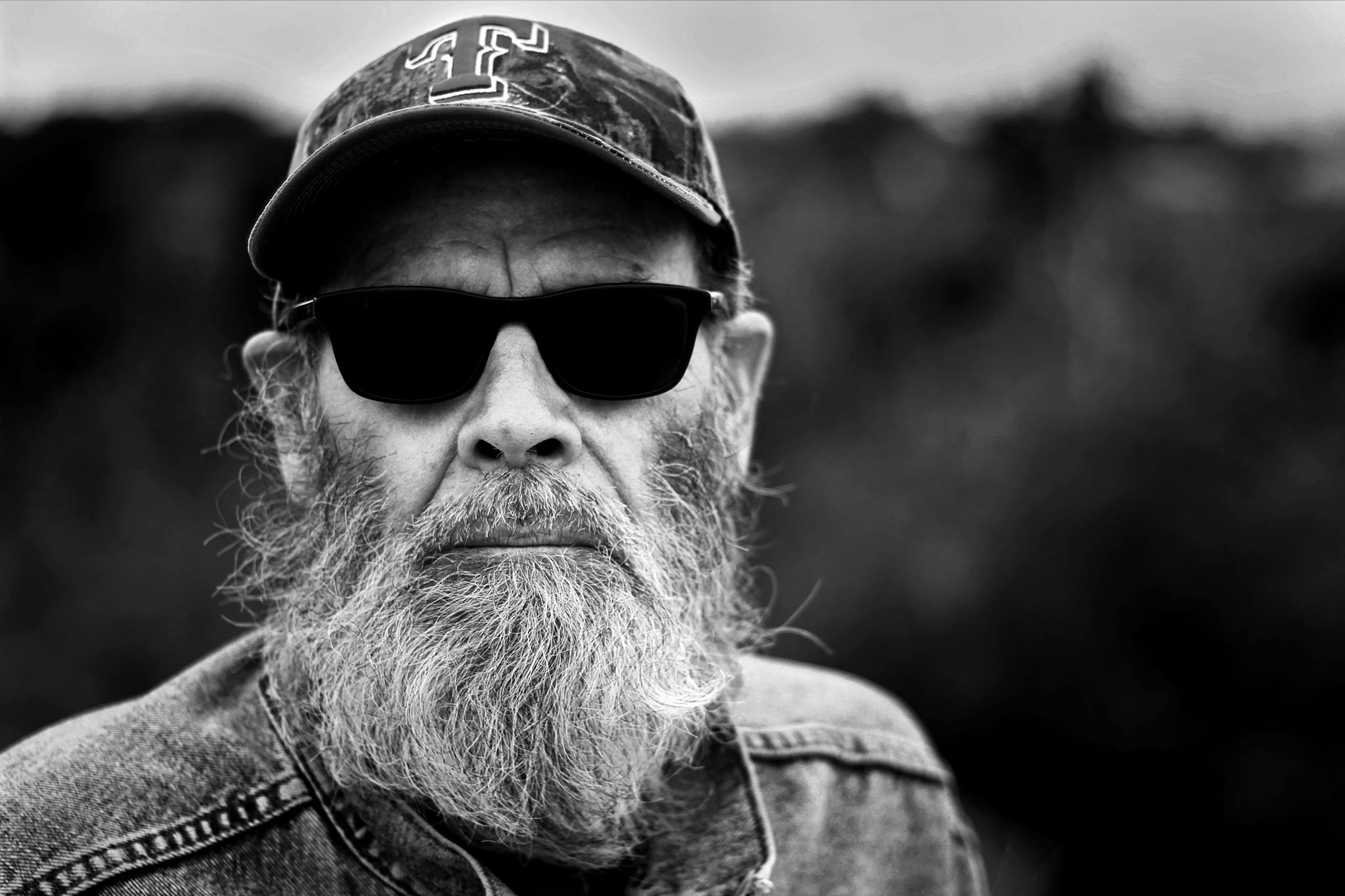 Portrait of Tom Hendrix. Shot during mid day with Canon T3i, 50mm lens and ND filter.  ©SimeonHendrix