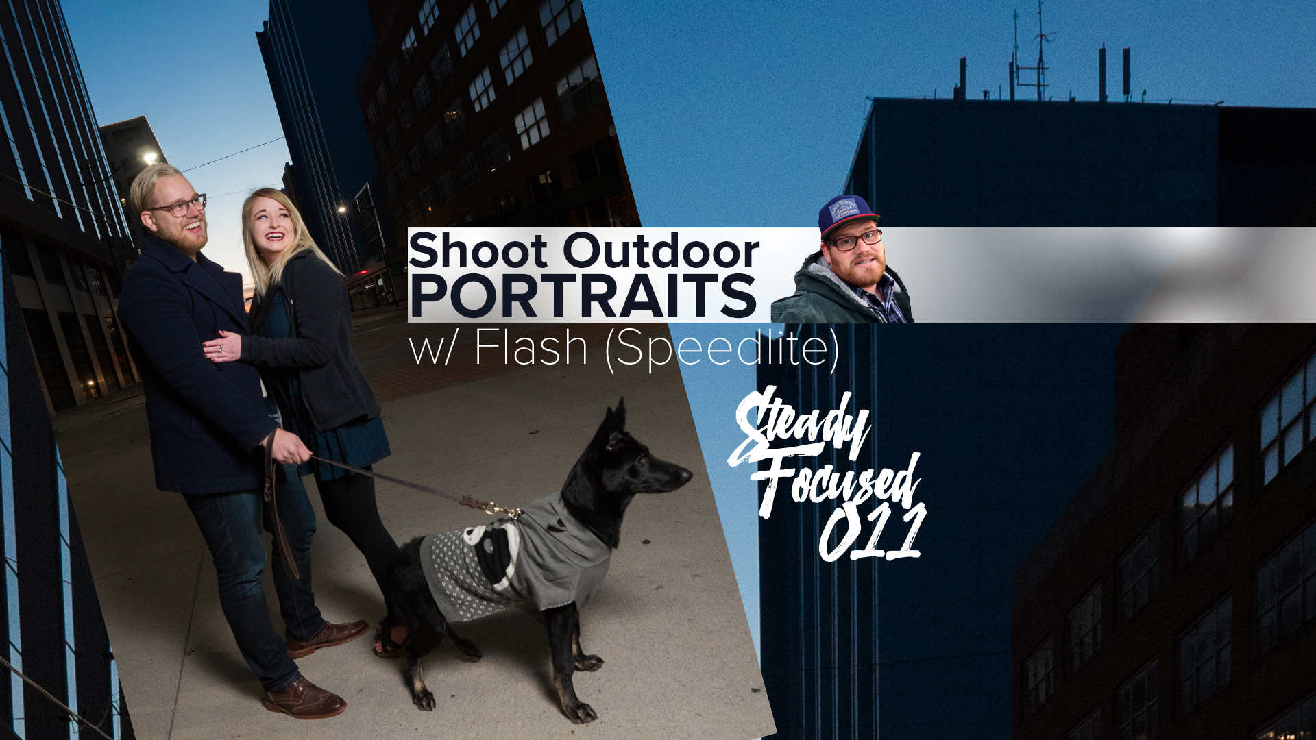 Shoot dynamic outdoor portraits during the day by using a flash (speedlite) - Steady Focused EP 011