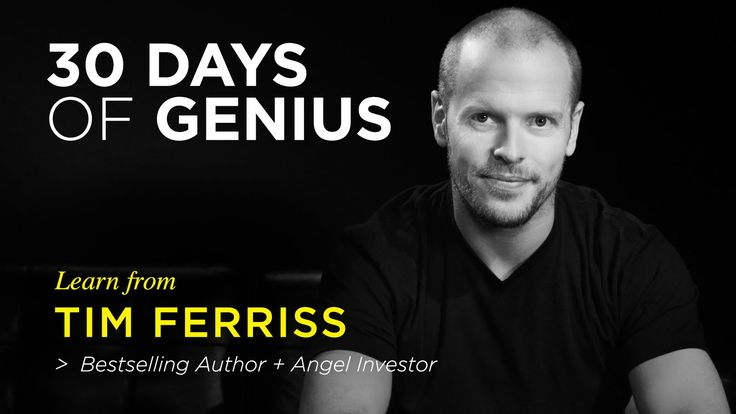 Chase Jarvis' interview with Tim Ferriss.