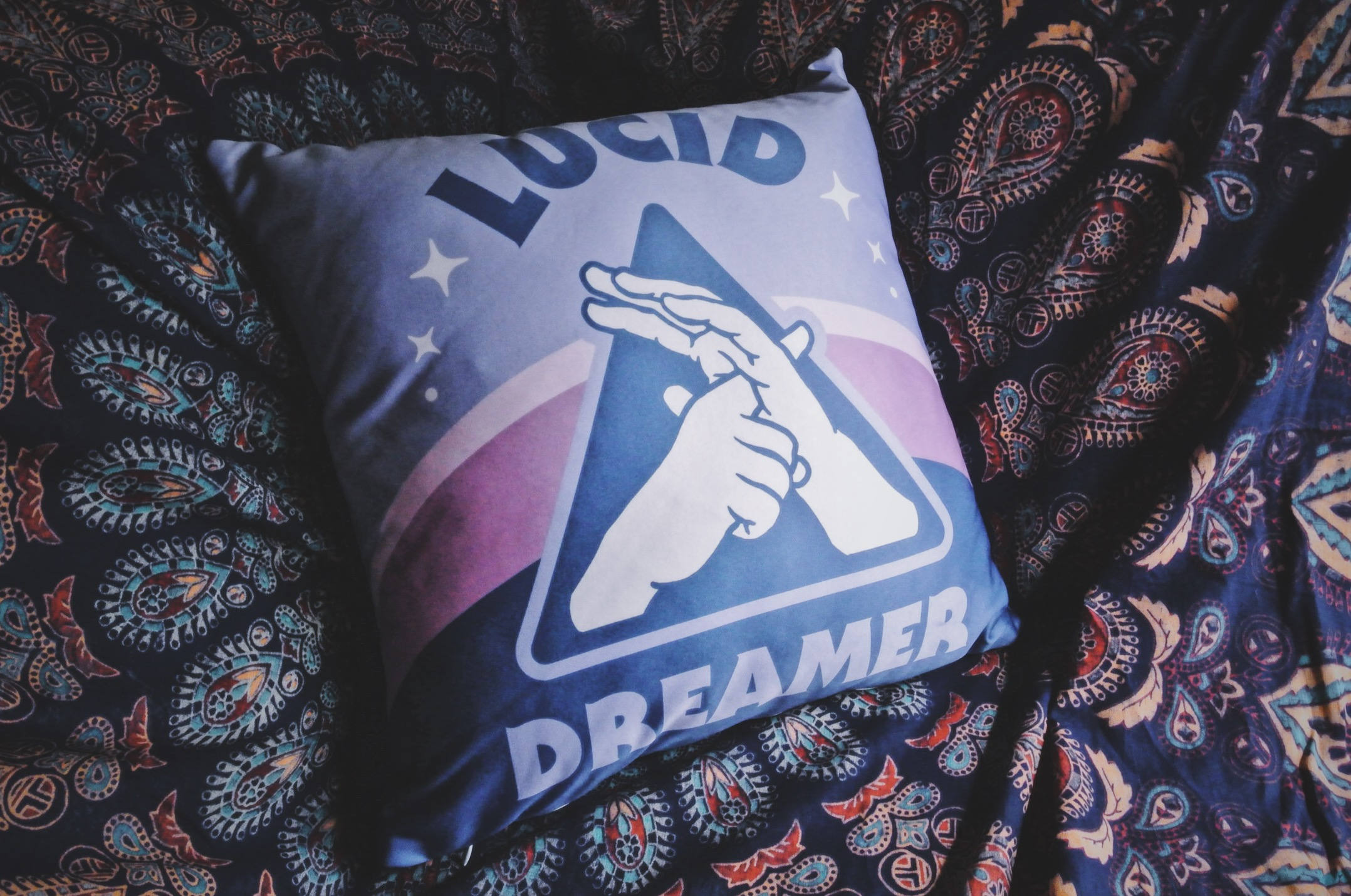 Pillow available at Starseed Supply Co - Jeff Finley Interview - Journey of Self Discovery - Steady Focused