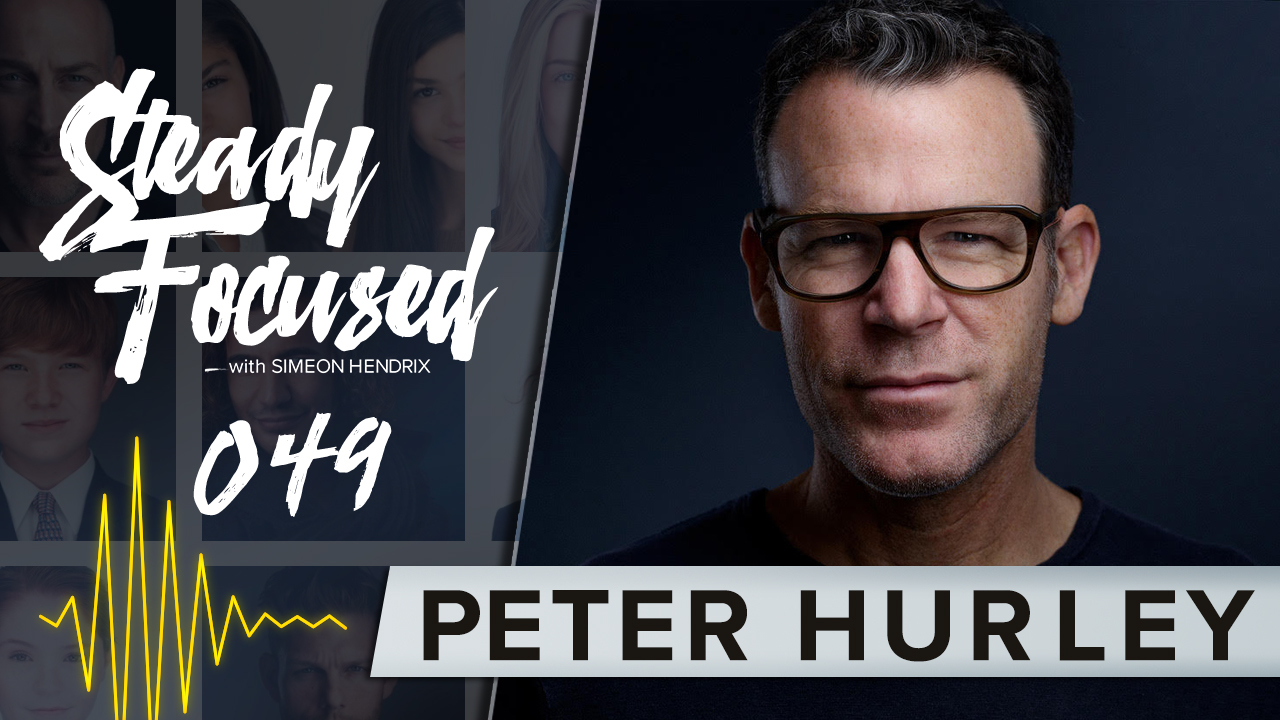 Create the Perfect Headshot - Peter Hurley Interview - Steady Focused EP 049