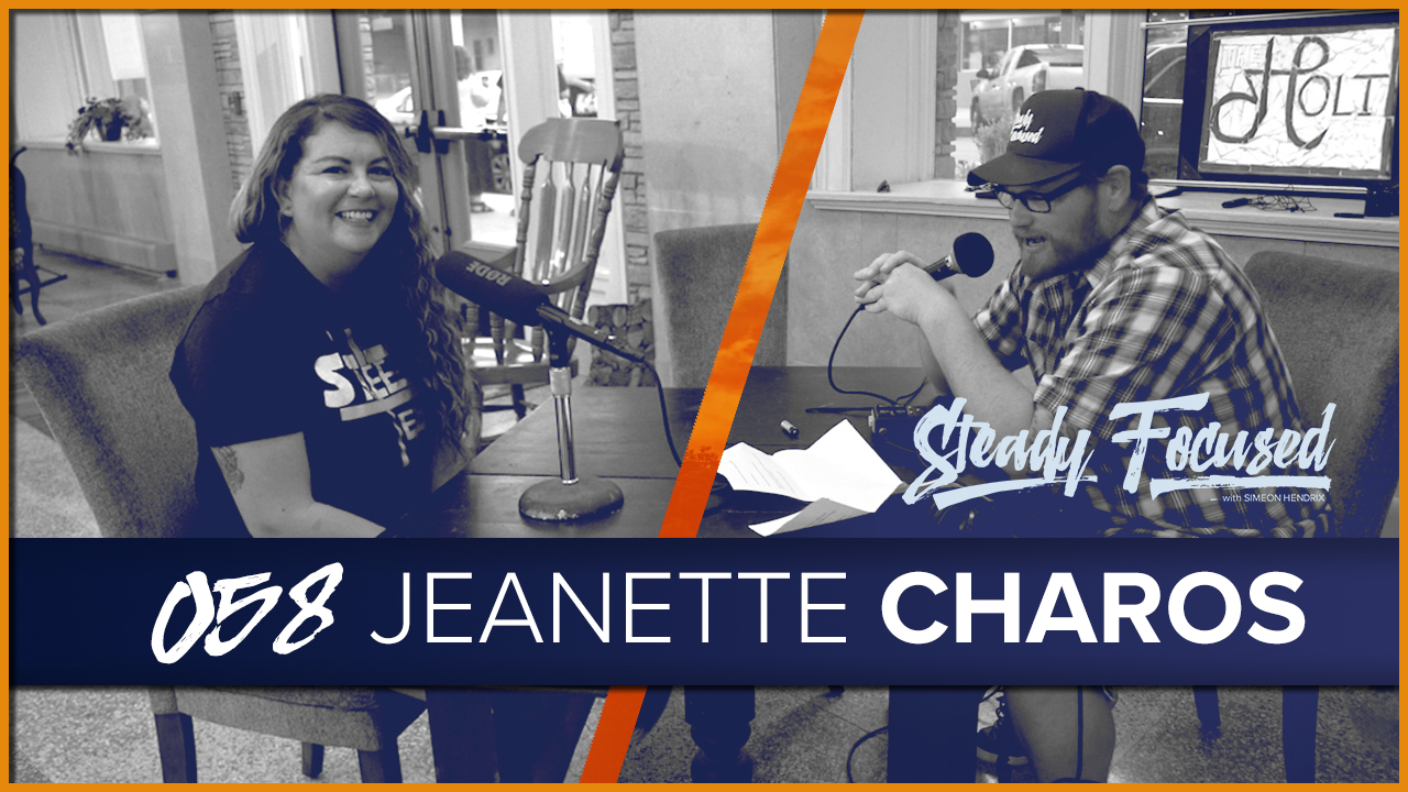 Jeanette Charos of Downtown Wichita Falls Development joins the Steady Focused show to talk about her life as a creative and the future of Wichita Falls, Texas.