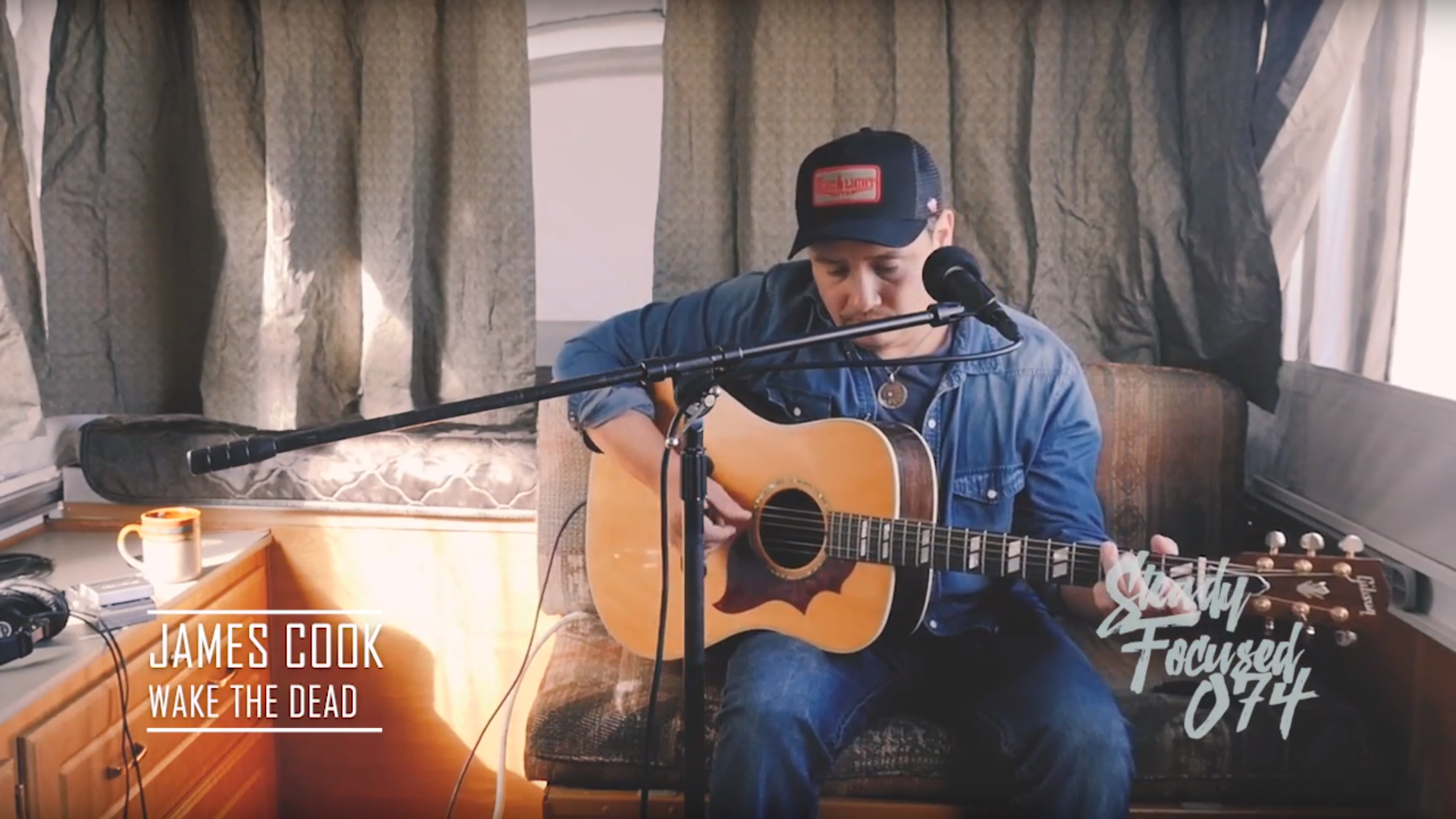James Cook interview regarding his new album Tall Tales of a Brown Buffalo.