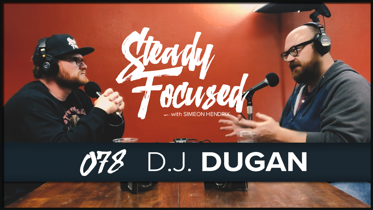 D.j. Dugan, of Shake Magazine and Smith Music, sits down with Simeon Hendrix in the Steady Focused studio for an amazing interview about winning in 2018 as a musician, Texas Music and so much more.