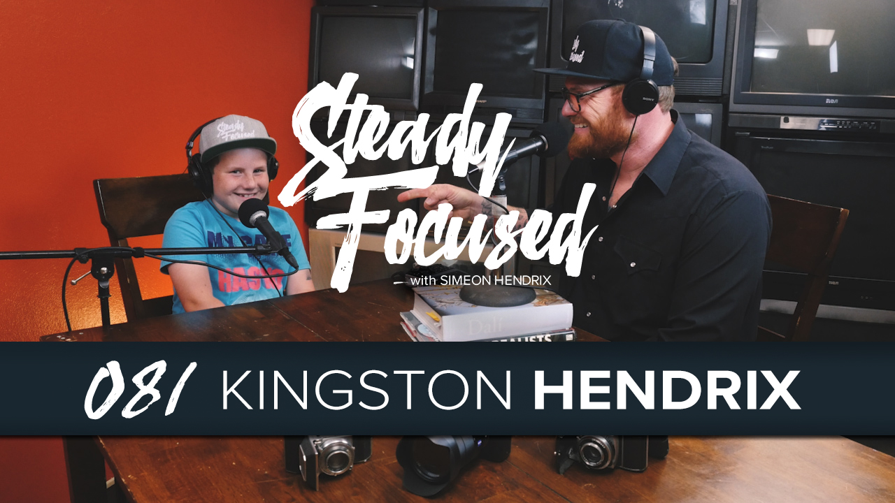 Kingston Hendrix comes into the Steady Focused studio to talk about the importance of fun and much more.