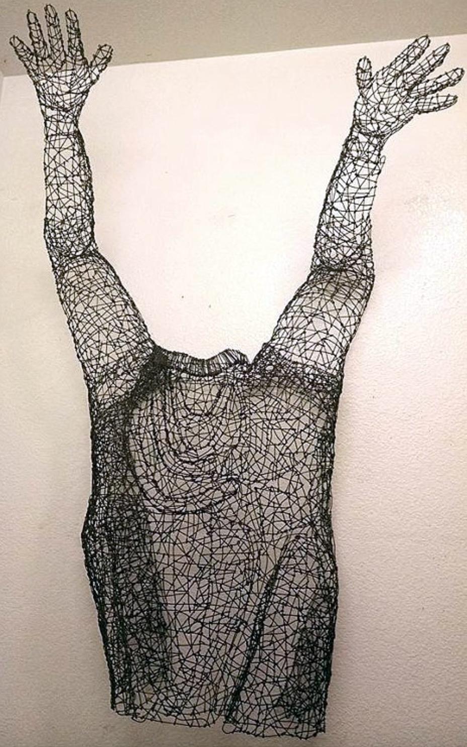 surrender  ,  loaned by artist Kristine mays