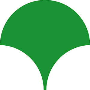 """The """"T"""" that symbolizes the prefecture of Tokyo resembles a ginkgo leaf."""