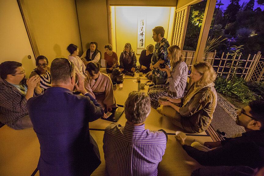 Tea ceremony presented by Omotesenke (Photo by SlickPix Photography)