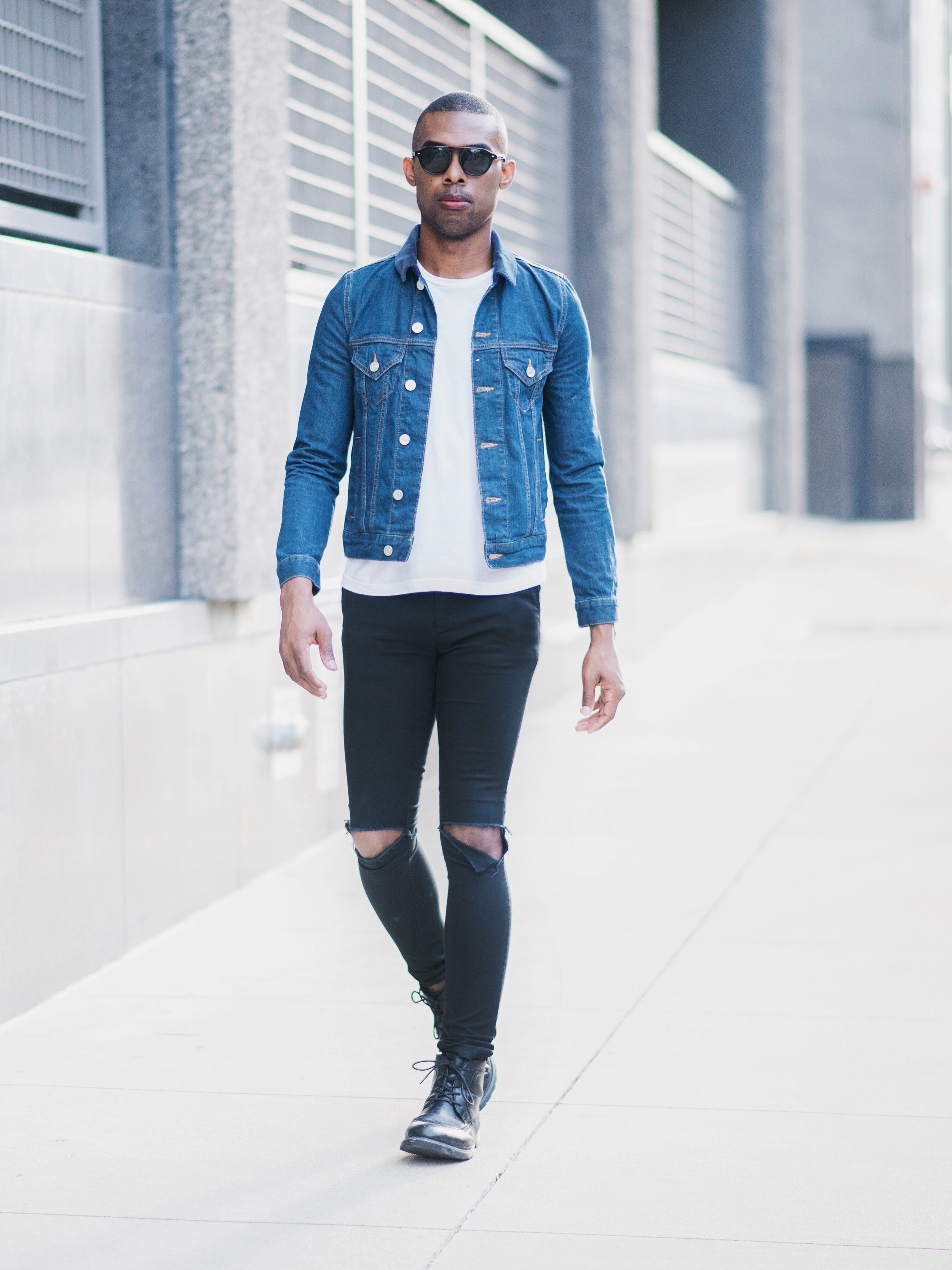 Denim and Ripped