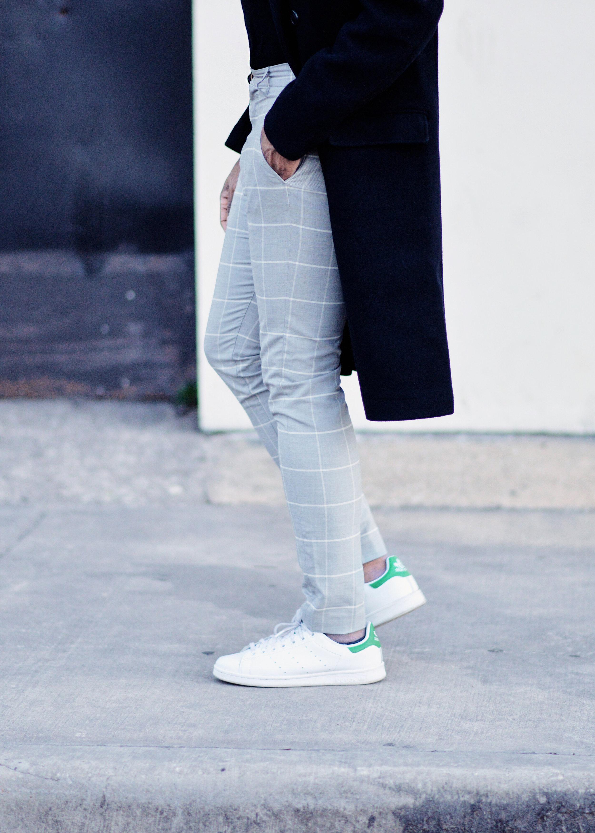 Checked Zara Smart Trousers