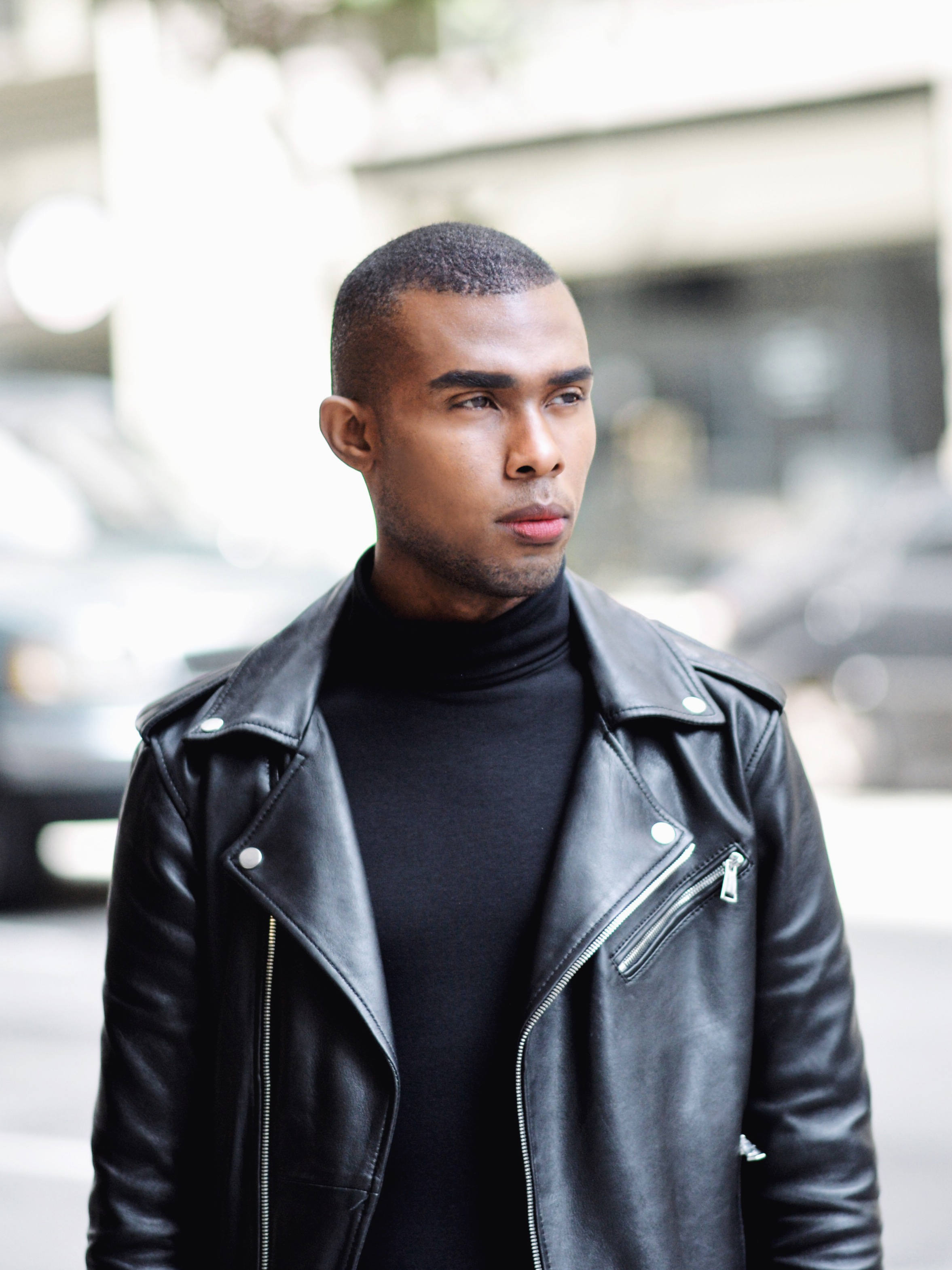The-Look-Principle-Black-Leather-Biker Jacket-and Ripped-Jeans-7