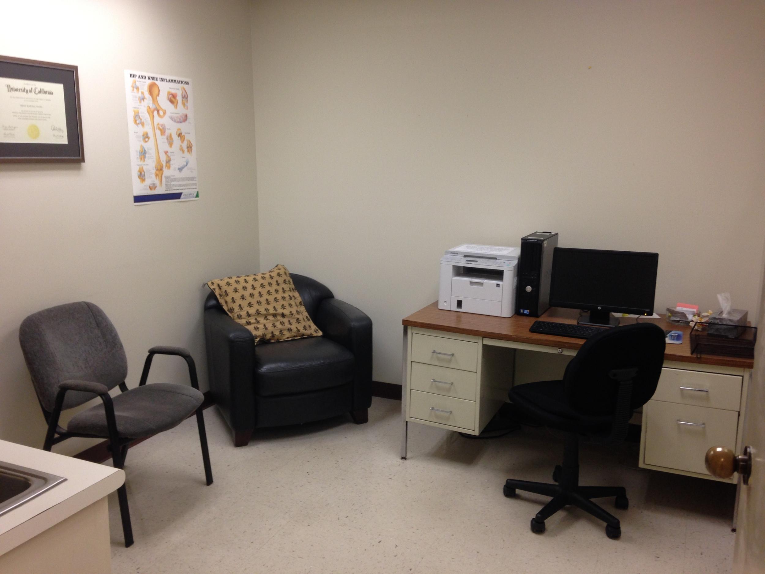 Biloxi Office Consultation Room