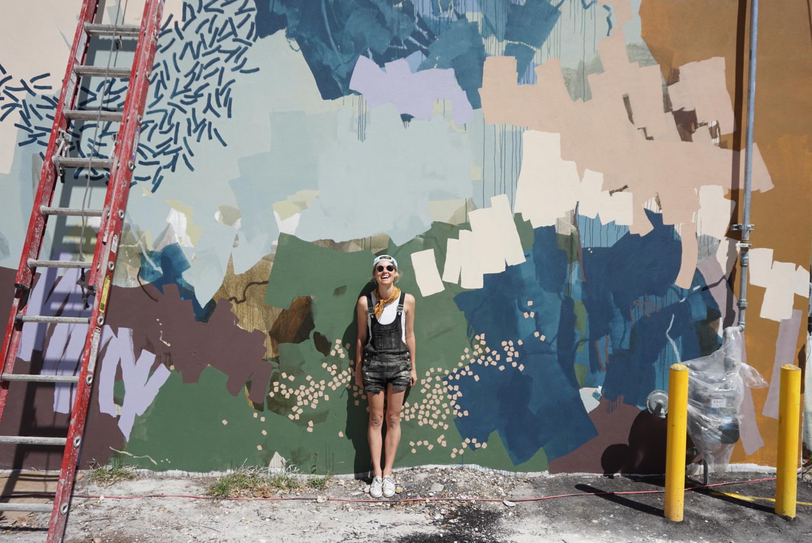 Sarah Delaney mural
