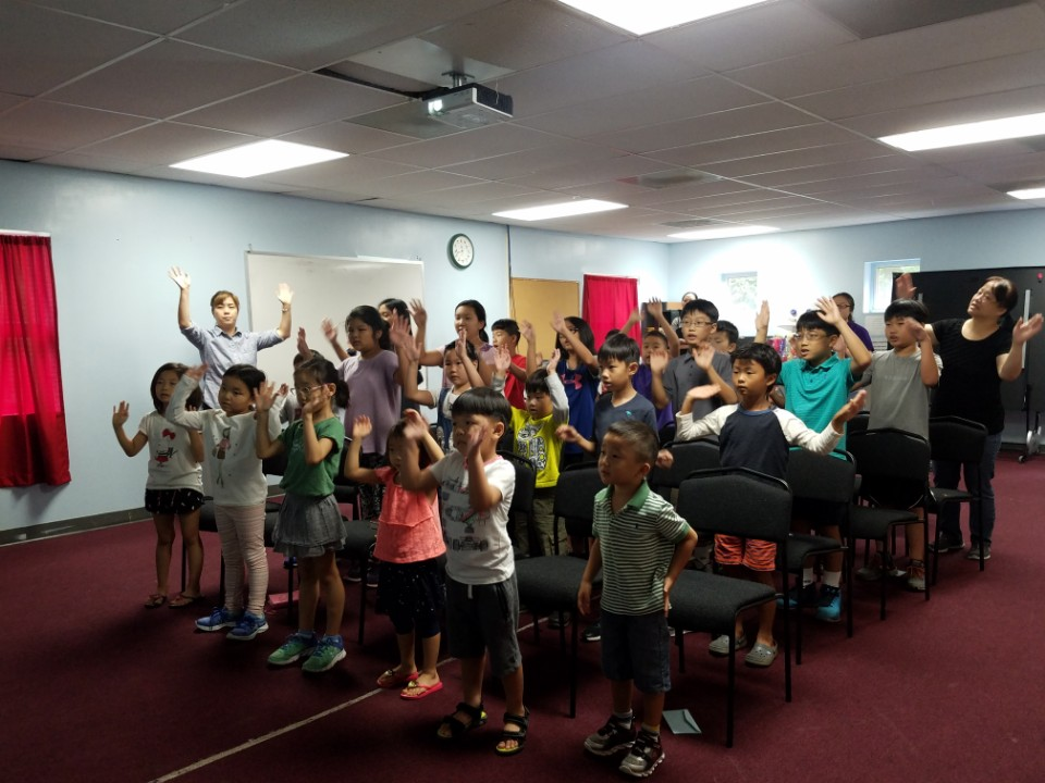 Children's Worship. Praise and Bible Message.