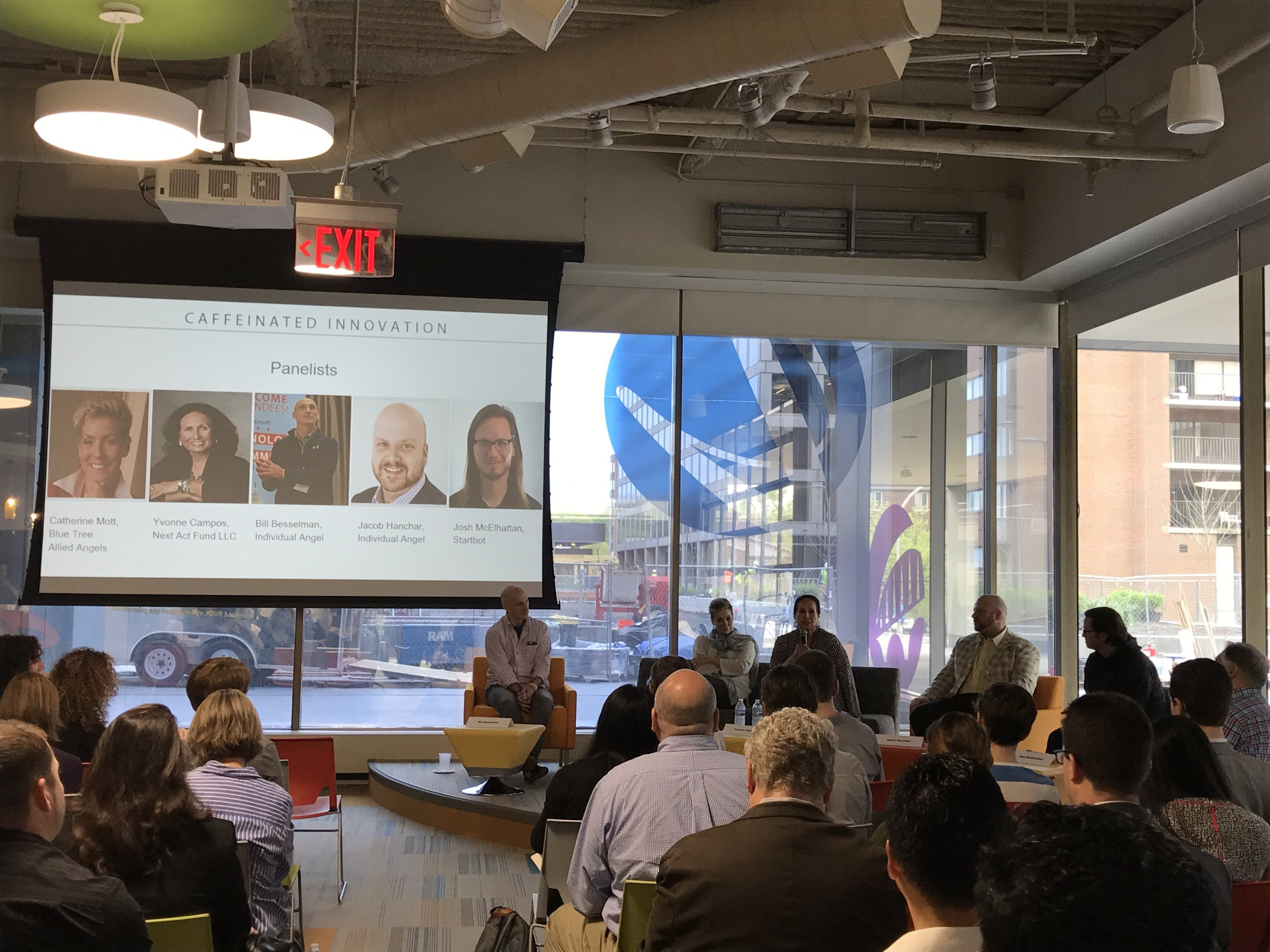 Caffeinated Innovation: Raising Funds from Regional Angels, April 21, 2017
