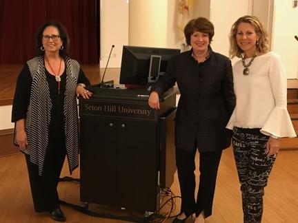 Yvonne Campos, Mary Finger, and Kelley Skoloda