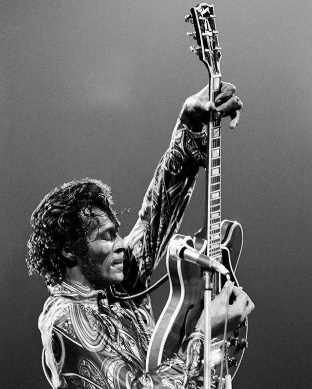 """Someday you will be the leader of a big old band."" Thank you for the music Chuck Berry 🎶 ❤ #rockandroll #legend #rip #chuckberry"