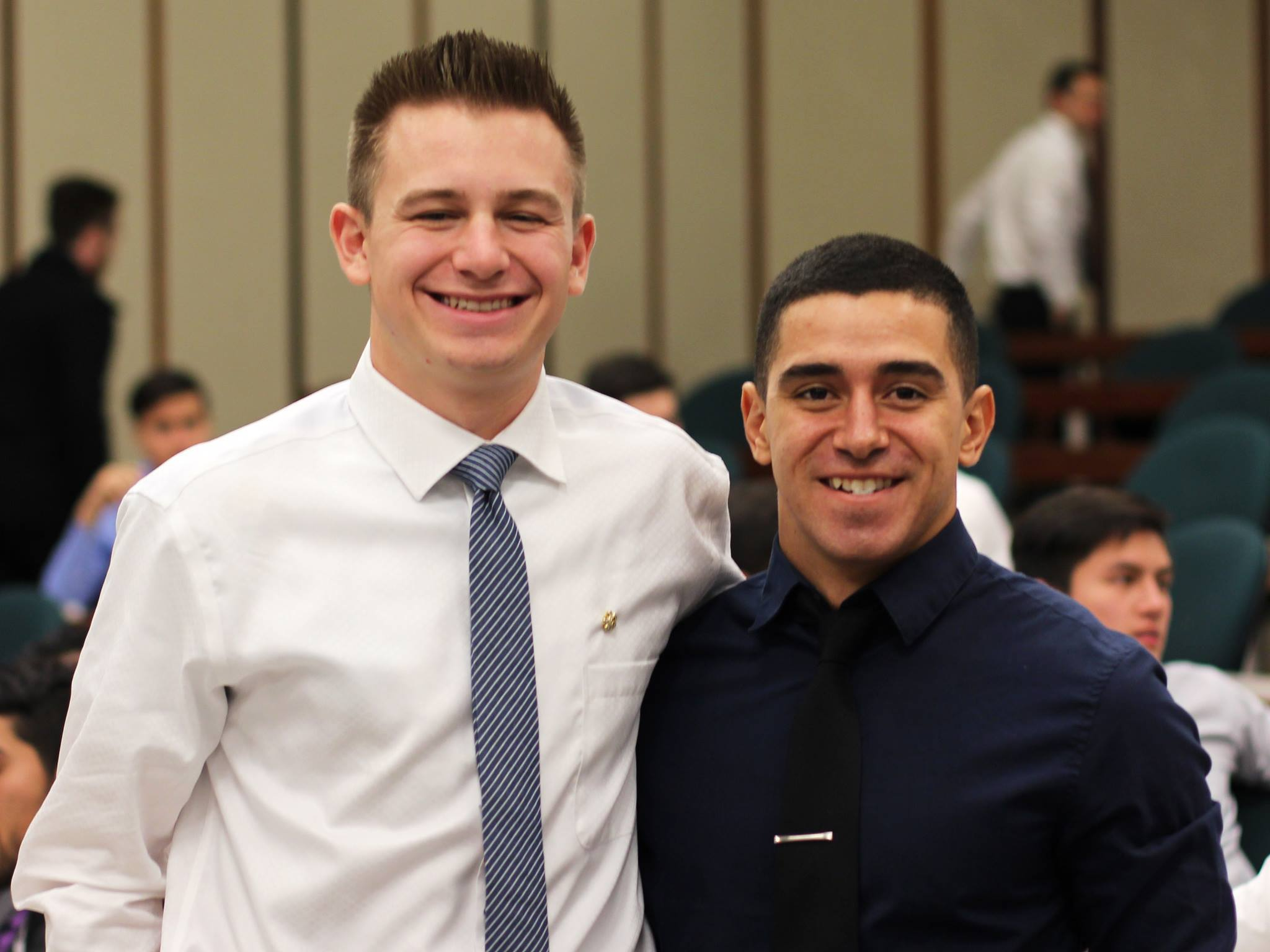 Congratulations to Sigma Nu's New Eminent Commander and Lieutenant Commander, Toby Clark and Jerry Saldivar, respectively. We're confident that with their leadership, Sigma Nu will continue to improve itself and our surrounding Davis community!