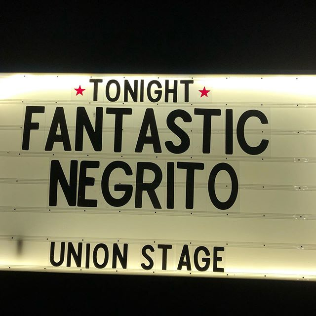 @fantasticnegrito @unionstage #fantasticnegrito #hump #thru #the #winter #washingtondc #houndstoothinteriors