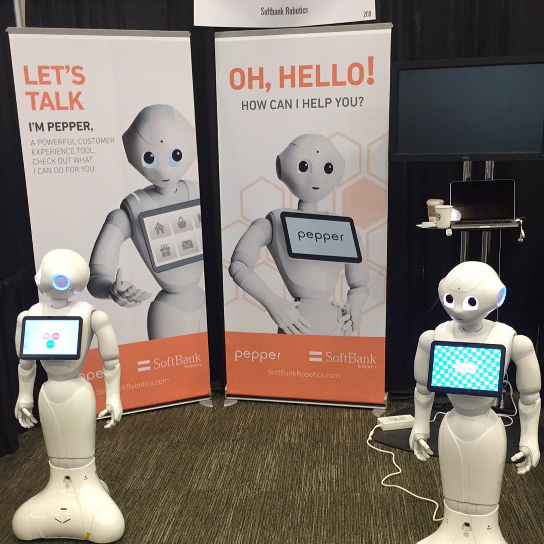 Pepper, the retail bot welcomes you