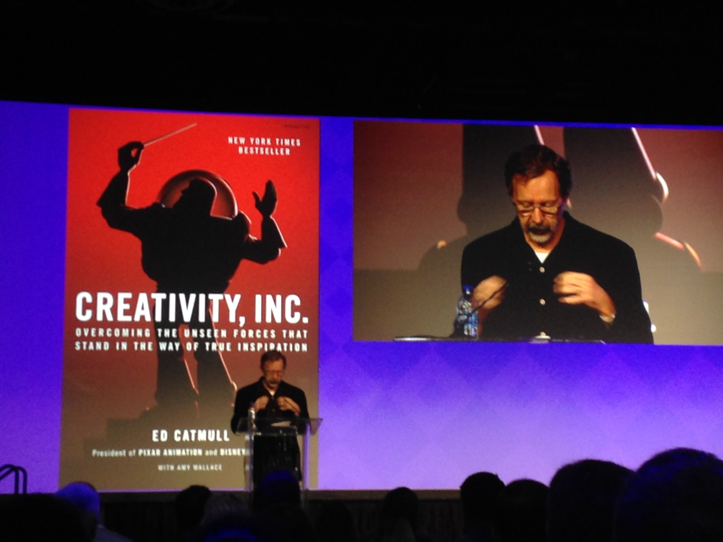 Co-founder and President of Pixar and Disney, Ed Catmull on Creativity