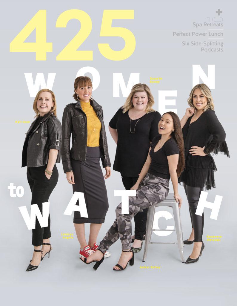 Women to watch 425 magazine Lindsay Angelo