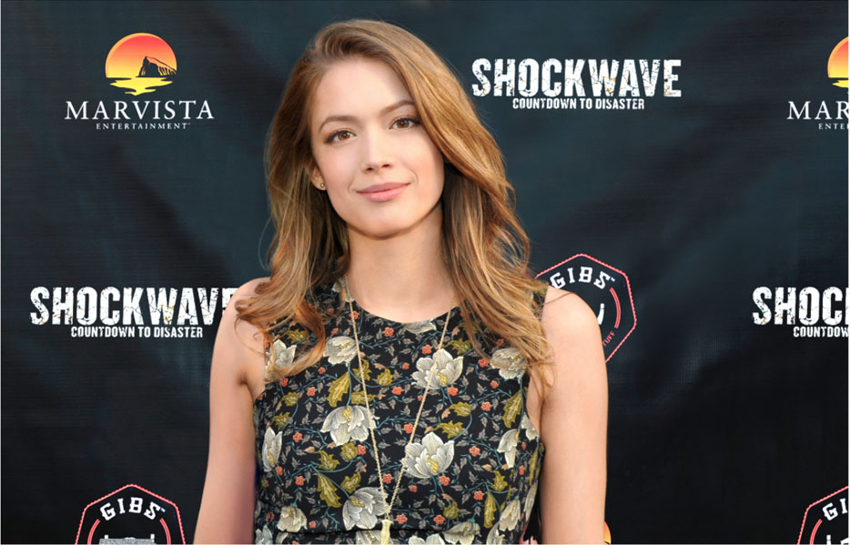 Shockwave Premier - Morgan walks the red carpet for the Premier of Marvista's 'Shockwave'. She plays the Lead along side Stacey Oristano and Rib Hillis in the Action/ Disaster Film. Directed by Nick Lyon.