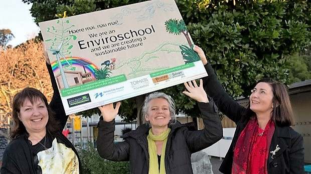 Starting them off early with Enviroschools (Photo courtesy Nelson Mail).