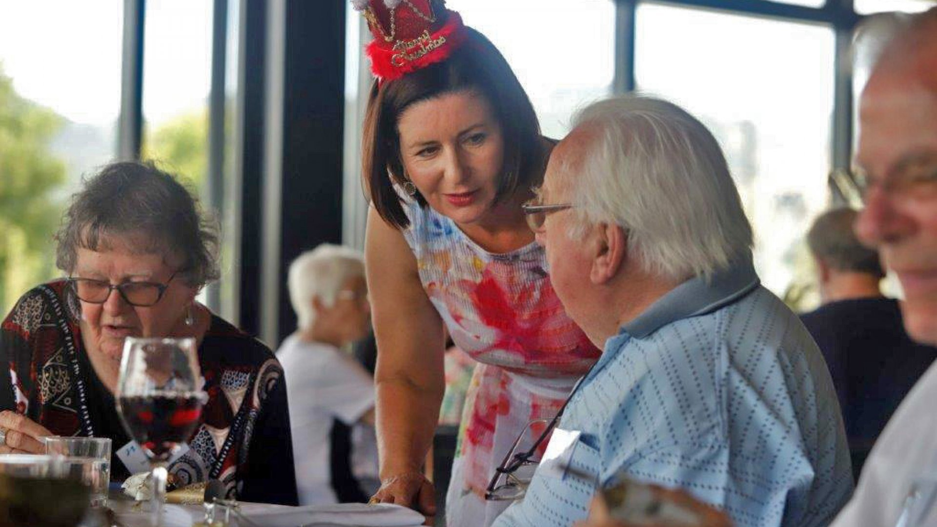 Christmas luncheon – always a special day!