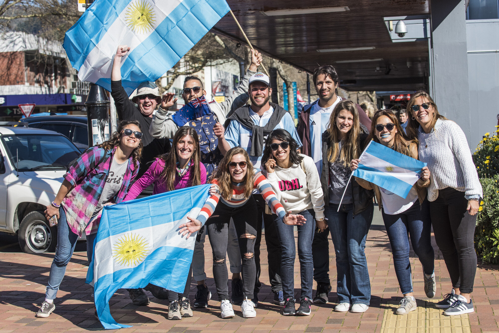 Great to have the Argentinians in town