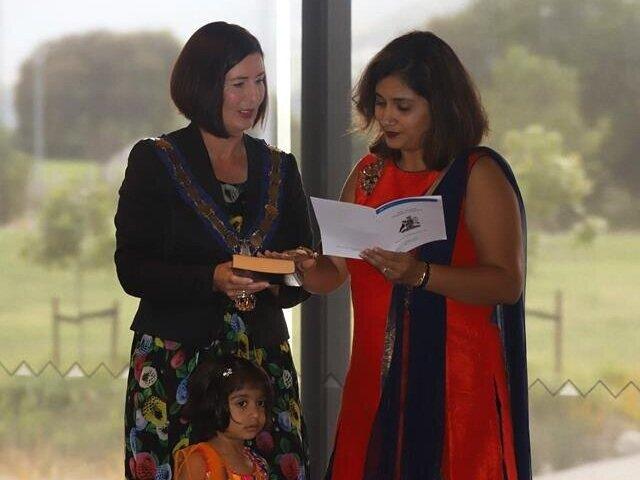 More Citizenship ceremonies...