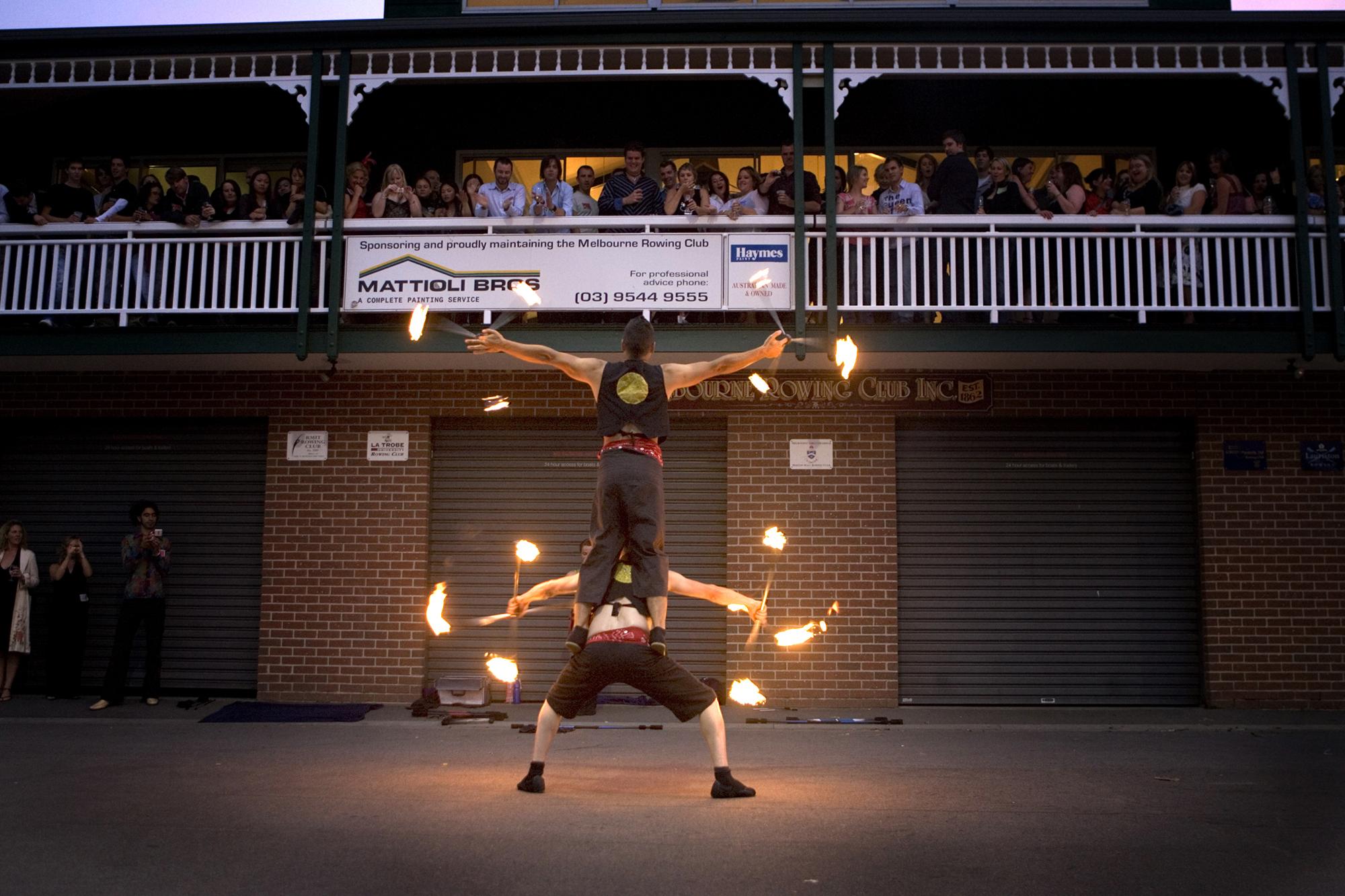 FIRE TWIRLERS / MELBOURNE VICTORIA