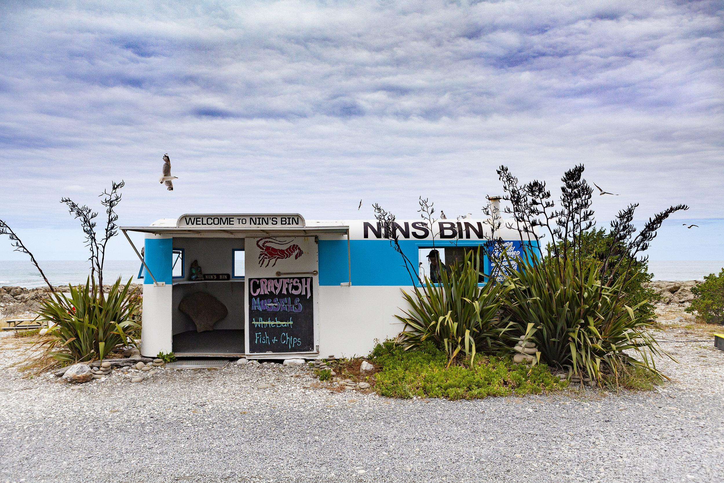 NIN'S BIN / KAIKOURA NZ